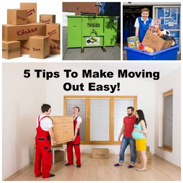 5 Tips To Make Moving Out Easier!