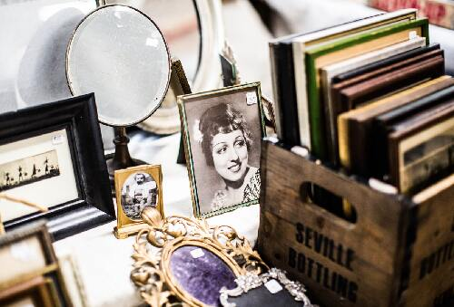 items on a table that can be repurposed